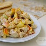 Curry Chicken Salad with apple