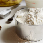 Gluten-free banana buttermilk pancakes