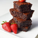 gluten free chocolate chip brownies
