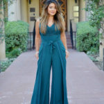 The green jumpsuit