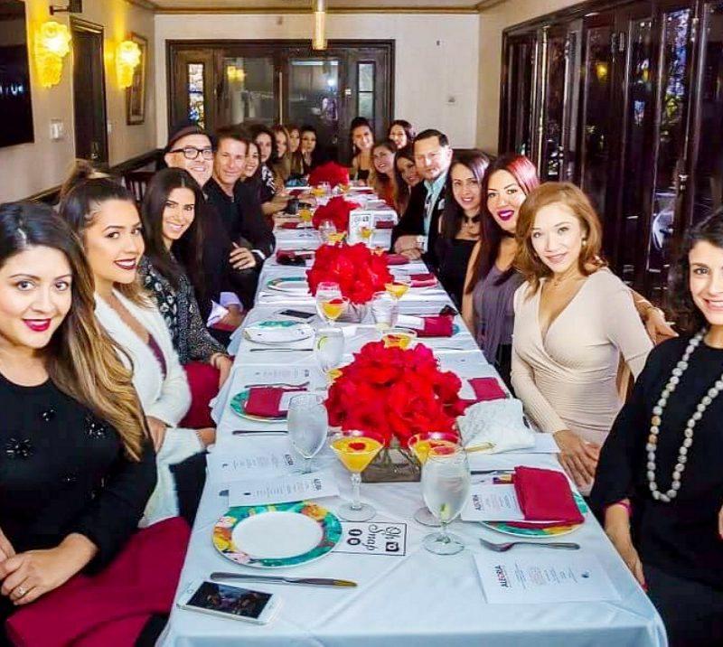Alegria lunch with Roselyn Sanchez at El Caserio in LA