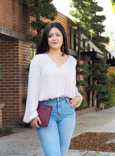 Free People blush top