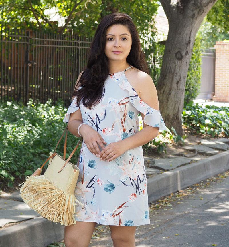 stitchfix floral dress