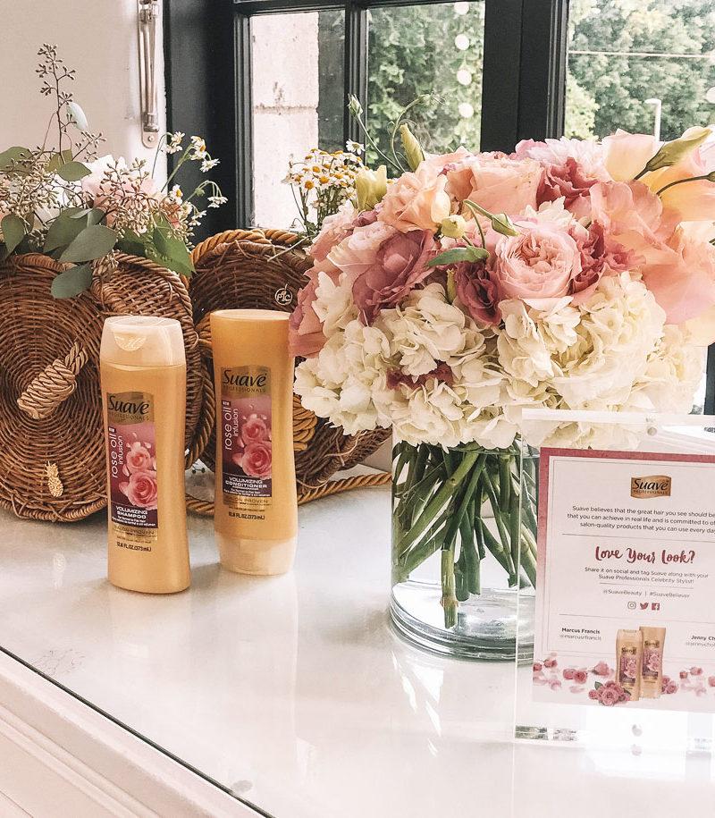suave rose oil